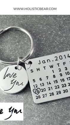 Since 14 Leather Keyring 2014 birth anniversary year gift usa route 66 style NEW