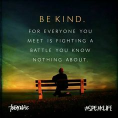 Be kind - in memory of Robin Williams