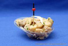 La Piccola Casa: La ricetta super veloce: Finger food di fagioli, tonno e cipolle alla senape e succo di lime