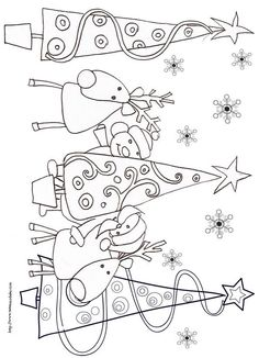 New christmas tree drawing kids xmas cards Ideas Christmas Activities, Christmas Printables, Christmas Projects, Noel Christmas, Christmas Colors, Colouring Pages, Coloring Books, Colouring Sheets, Christmas Tree Drawing