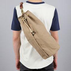 TOU-CHE CANVAS DUFFLE BAG TAN ($100-200) - Svpply