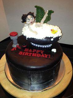 My Betty Boop cake!