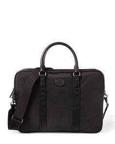 Polo Ralph Lauren Thompson Briefcase In Black Lauren Thompson, Work Bags, Leather Bag, Leather Crossbody, Women Brands, Bag Accessories, Polo Ralph Lauren, Hand Bags, Shoulder Bags