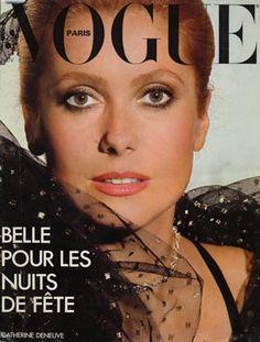 Catherine Deneuve, Vogue Paris, February 1977. Photo Henry Clarke