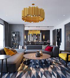 modern-gold-light-fixture