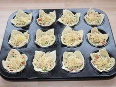 Sajtos-csirkés muffin   Alajuli receptje - Cookpad receptek Bread Dough Recipe, Good Food, Yummy Food, Hungarian Recipes, Appetizers For Party, No Bake Cake, Food Hacks, Chicken Recipes, Brunch