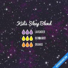 Kids Sleep Blend - Essential Oil Diffuser Blend