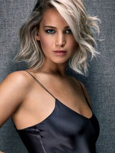 Jennifer Lawrence In Entertainment Weekly - Hair Care Beauty Jennifer Lawrence Photoshoot, Jennifer Lawrence Pics, Jennifer Lawrence Blonde, Jennifer Lawrence Haircut, Jennifer Laurence, Entertainment Weekly, Hair Dos, Celebrity Pictures, New Hair