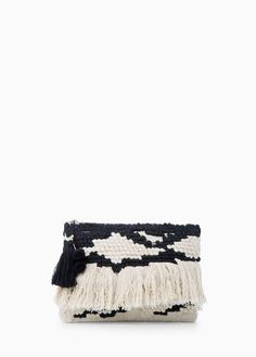 Fringe Ethnic Clutch