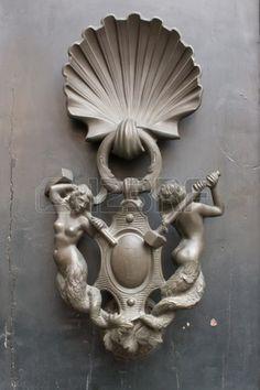 Porta battente, Italia, Roma, unico Archivio Fotografico
