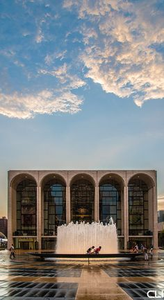 The Met Opera house - I've been on the outside. Now I just want to see an opera on the inside.