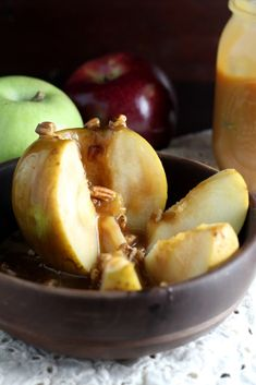 Inside Out Caramel Apples - A fun, easy, fall treat.