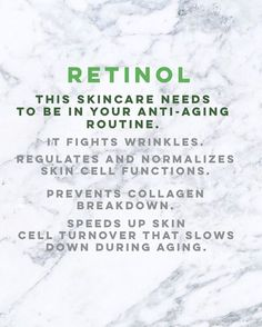 Retinol is a very big ingredient in skincare. Want to age backwards? Fine lines? Laugh lines? Our anti aging and anti wrinkle skin care routines and Anti Aging Cream, Anti Aging Skin Care, Skin Tips, Skin Care Tips, Organic Skin Care, Natural Skin Care, Natural Beauty, Organic Baby, Skin Care Routine For 20s
