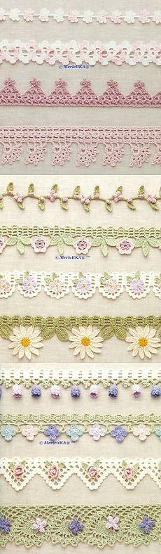 Crochet - una ventaja ferrocarril agraciada y la llanta More