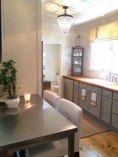 FRENCH HOUSE TOUR KITCHEN FROM CEDAR HILL FARMHOUSE NEWSLETTER 10277380_10201727905660108_3198952260606689544_n