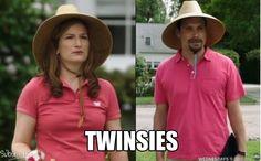 Twinsies! #Suburgatory