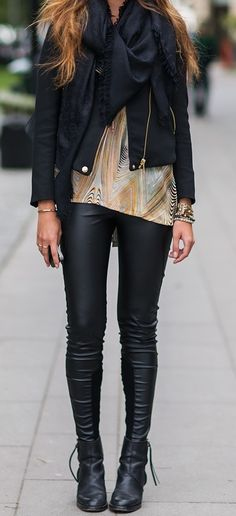 Leather jacket outfit lv!!!  just need $159.99  !!!!!!   http://louisvoitton2014.de.nu
