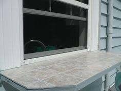 pass through for kitchen window.I'd like this for the side kitchen window ledge. Pass Through Window, Window Ledge, Home Additions, Home Reno, Dream Decor, Kitchen Design, Kitchen Ideas, Exterior Design, Kitchen Remodel