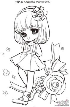 24 Best انمي بنات رسم Images Coloring Pages For Girls Coloring