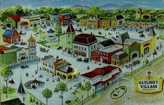 Gaslight Village Lake George New York