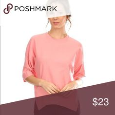 [spray•rose] Pink sweater - perfect solo or layered with a vest  Colors available: pink Sizes: Small, Medium, Large Fabric:  Condition: New with tags  Please ask all questions before purchase.  Bundle Discount: 10% on 2+ items.  Typically ships within 24 hours.   Follow along on Instagram, Snapchat, Twitter & Facebook: @flowersandgray  xo, Jess Flowers and Gray Sweaters Crew & Scoop Necks
