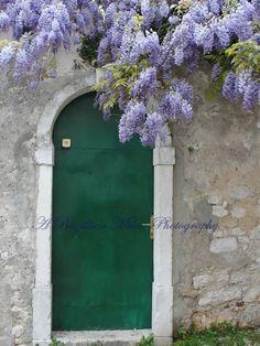 Green Door, Rovinj, Croatia