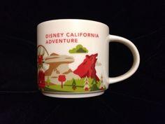 Starbucks Disney California Adventure Mug YAH You Are Here Mickey UK Ship