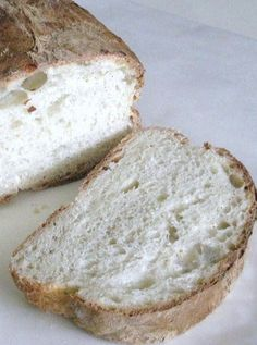 Crusty Italian Bread {C-r-a-z-y Easy To Make}