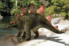 Stégosaure : image de synthèse d'un stégosaure sur L'Internaute Magazine
