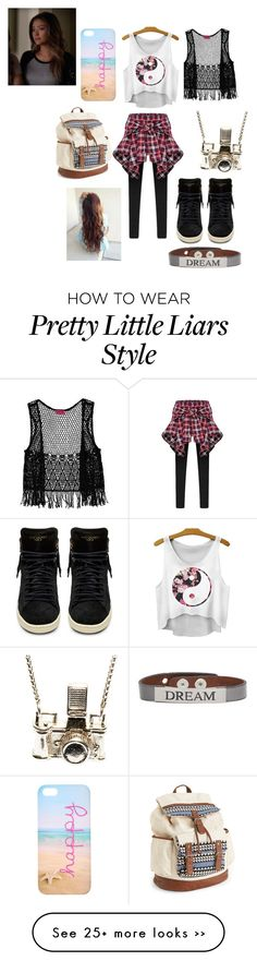 """Emily Fields from Pretty Little Liars"" by monsterhigh731 on Polyvore"