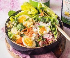 Jarní miska s bulgurem | Recepty Albert Cobb Salad, Food, Bulgur, Essen, Yemek, Eten, Meals