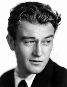 John Wayne was incredibly handsome back in the day!