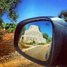 Rearview mirror.  #OlioSalve #Salento #Salve #panorama #olio #extravergine #oil #nature #olive