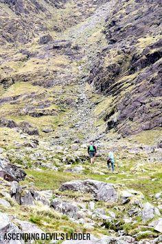 Dispatch 7.18.13: The grueling ascent up Devils Ladder in Carrauntoohil, Ireland