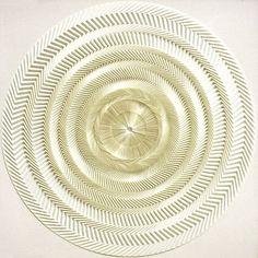 Hypnotizing Origami Mandalas Formed Using Single Paper