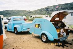 Teardrop Trailers:  Written from the perspective of a teardrop owner, these little trailers are the best way to camp.