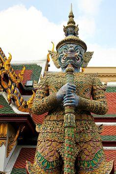 Grand Palace, Bangkok - more photos and info on our blog: http://www.ytravelblog.com/grand-palace-bangkok/