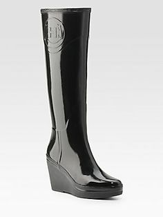 Hunter Wedge Rain Boots, sold out at Sak's