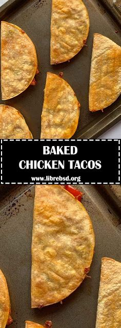 To reheat prepped tacos, bake or air fry at the same temperature you cooked the . - To reheat prepped tacos, bake or air fry at the same temperature you cooked the tacos for minut - Baked Chicken Legs, Baked Chicken Tacos, Chicken Taco Recipes, Taco Bake Recipes, Chicken Taco Bake, Yummy Recipes, Baked Tacos Recipe, Meal Recipes, Mexican Dishes