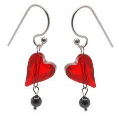Tutorial - How to: Wild Heart Earrings | Beadaholique