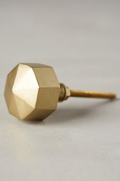 For use as a curtain tieback in the living room - Faceted Ory Knob - anthropologie.com