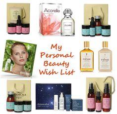 My Personal Beauty Wish List