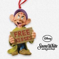 2013 Disney - Free Kisses - Dopey Hallmark Ornament at The Ornament Shop