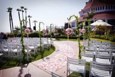 wedding aisle decoration ideas | 25 Romantic Wedding Aisle Petals Decor Ideas
