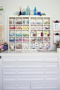 Something Turquoise Craft Room   Blog Office