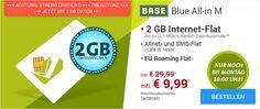 2GB LTE Allnet Flat und EU-Roaming für 9,99€ http://www.simdealz.de/o2/blue-all-in-m-aktion/