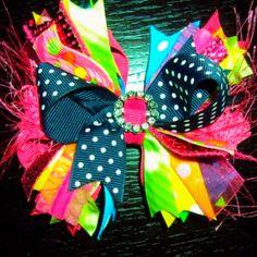 Cute Hair Bow for a little girl!!