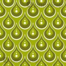 Drops Vector Ornament    Pattern designed by Martina Stadler