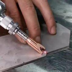 Welding Art Projects, Welding Tips, Welding Works, Pipe Welding, Metal Projects, Metal Working Tools, Metal Tools, Homemade Tools, Diy Tools