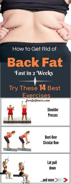 42a02ae50c How to Get Rid of Back Fat Fast in 2 Weeks